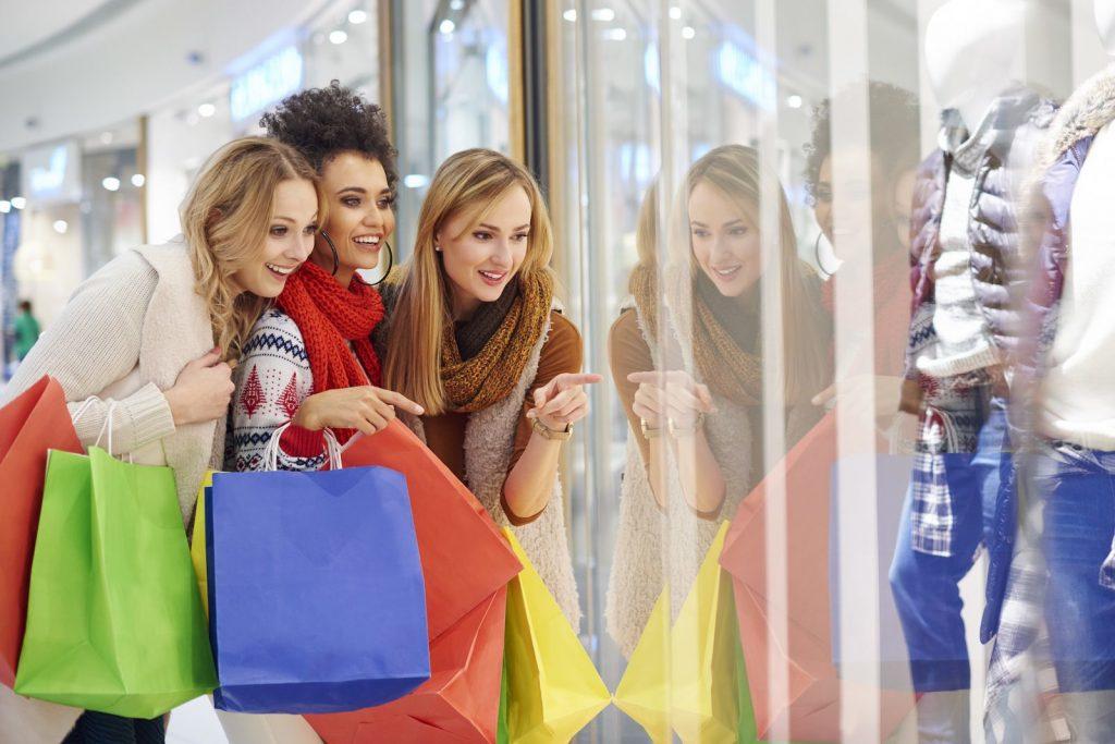 Le shopping permet aux clients de réduire leur stress